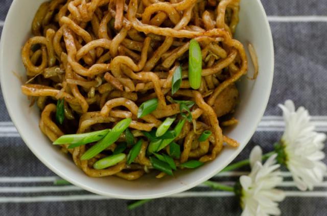 Chicken Shanghai Noodles